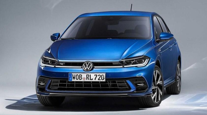 Volkswagen Polo 2021 Mk6 facelift - chi tiết buồng lái kỹ thuật số